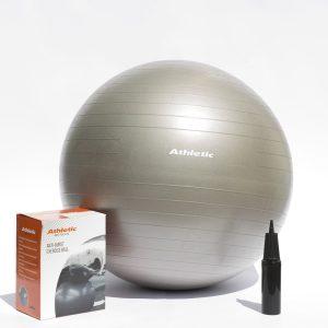 Pelota de yoga caja e inflador