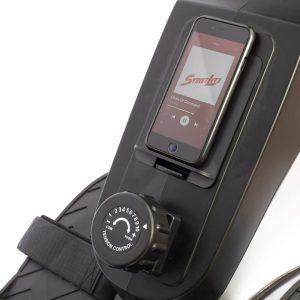 Tensiómetro y tablero simulador de remo