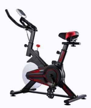 Bicicleta fija color negra
