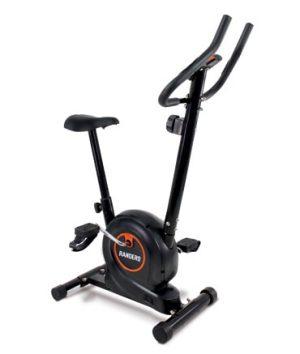 bicicleta fija color negro
