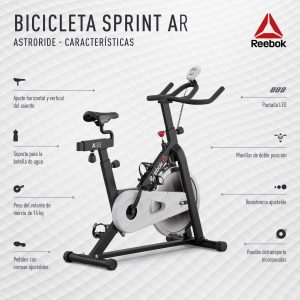 ficha técnica bicicleta fija
