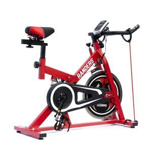 Bicicleta fija color rojo