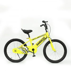 Bicicleta color amarillo