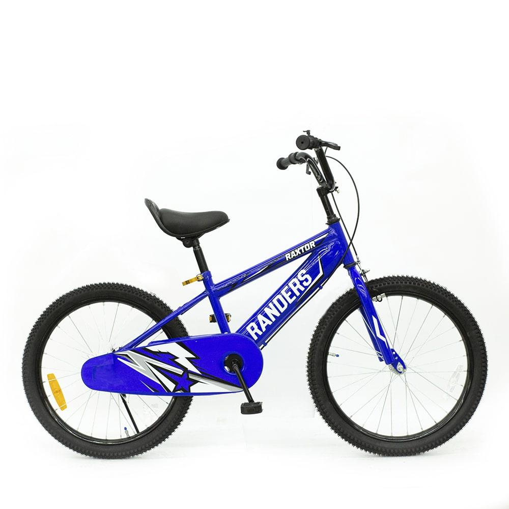 bicicleta color azul