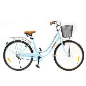 bicicleta de paseo color celeste