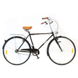 bicicleta de paseo color negro