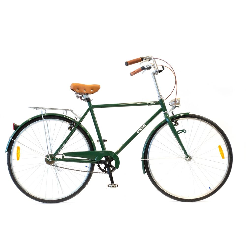 bicicleta vintage color verde